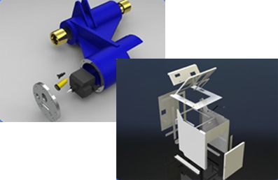 Cad models of different projects